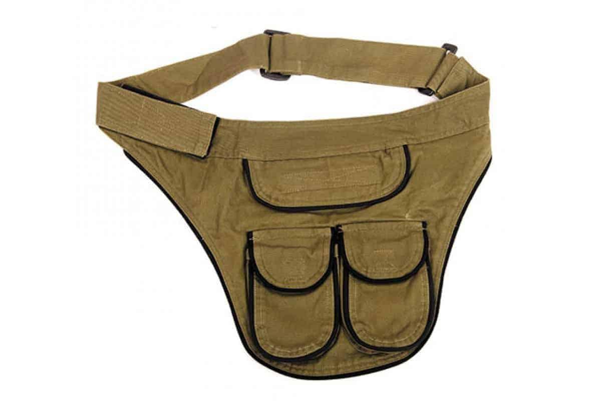 Cotton Belt Bag with Pocket