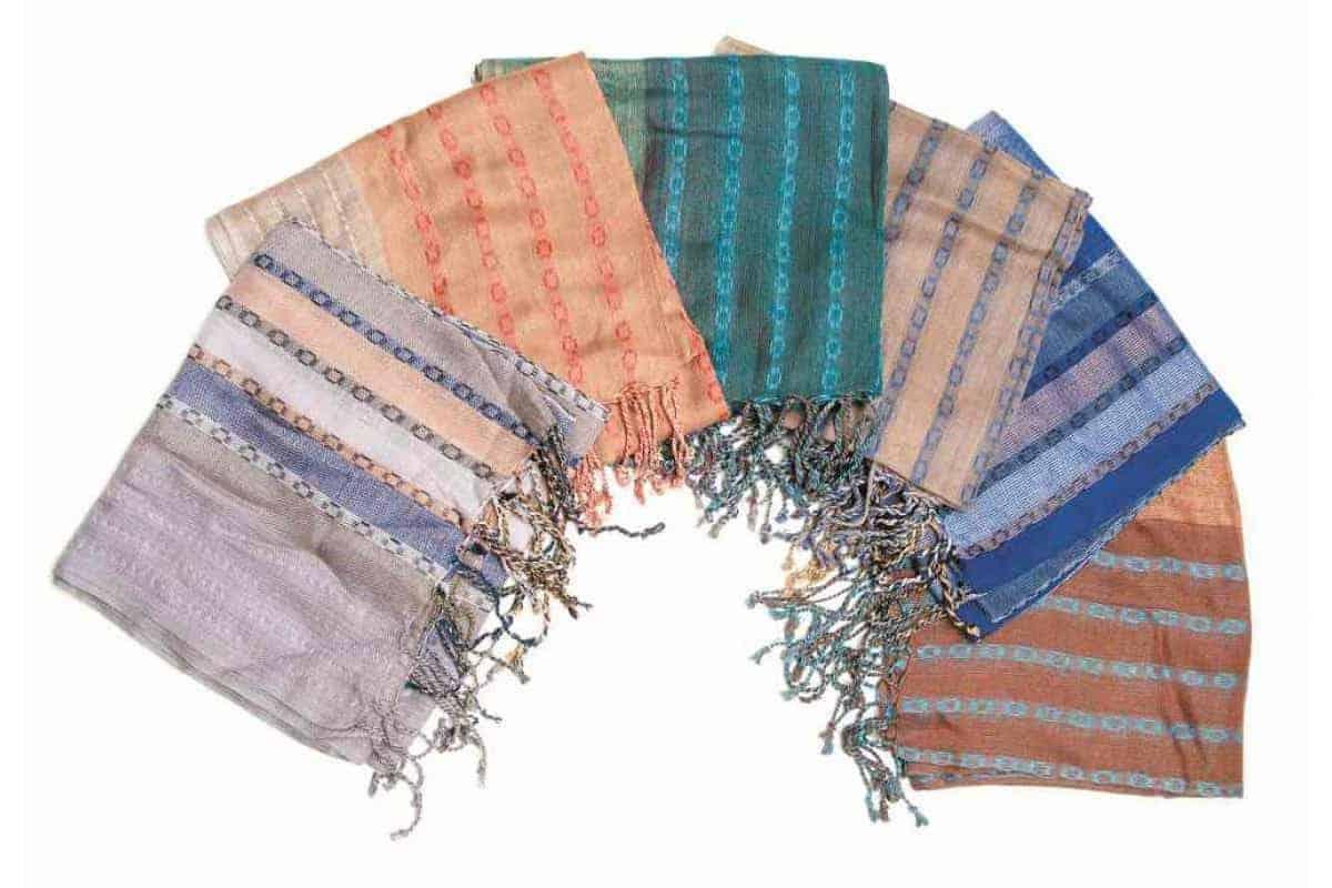 Cotton Jacquard Design Scarf