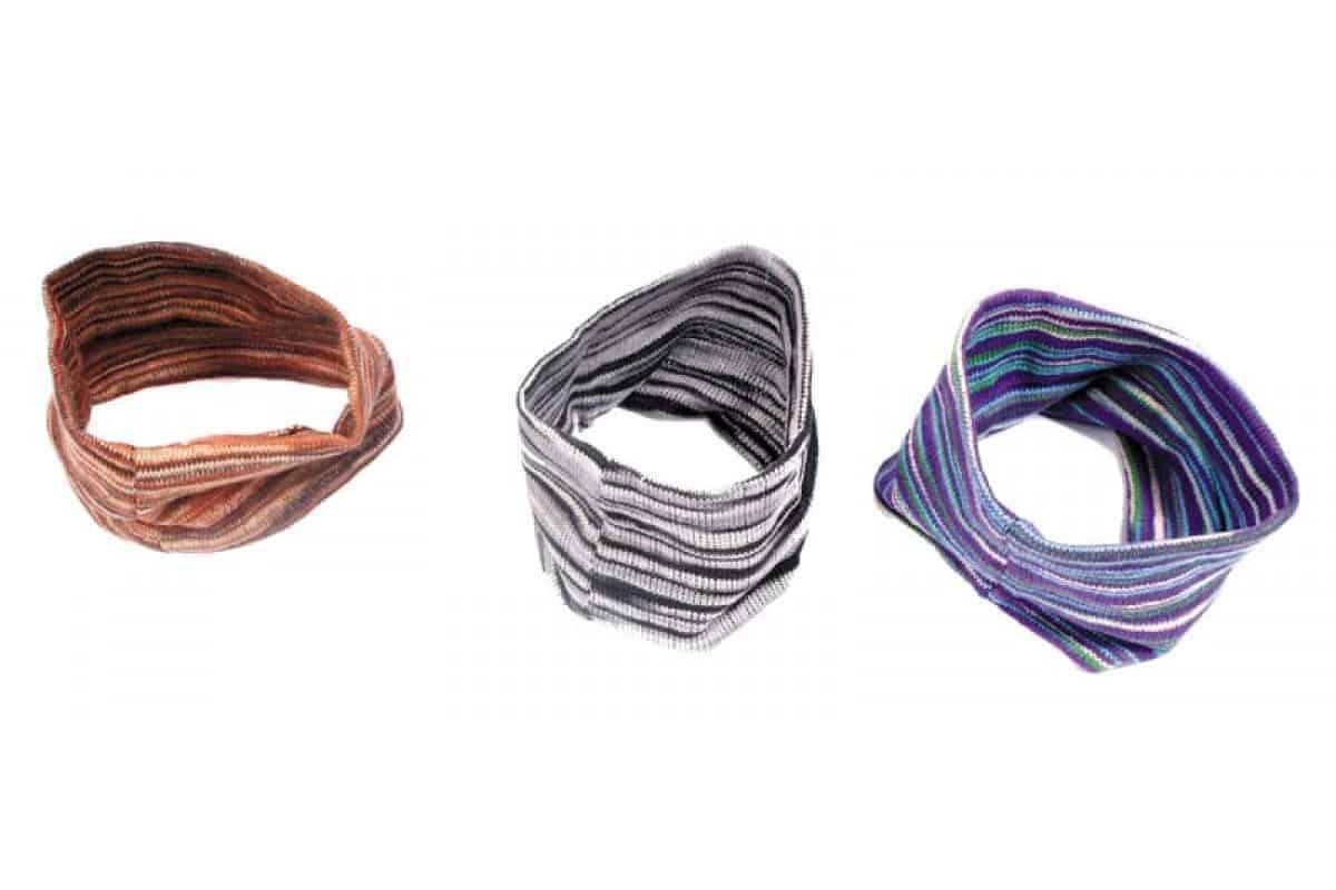 Cotton Knit Tube Head Band