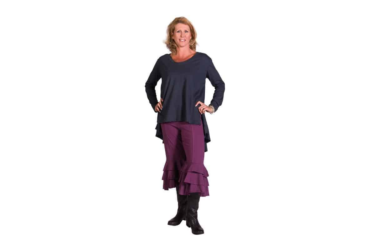 Cotton Long Sleeve Tunic
