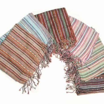 Cotton Loose Weave Scarf