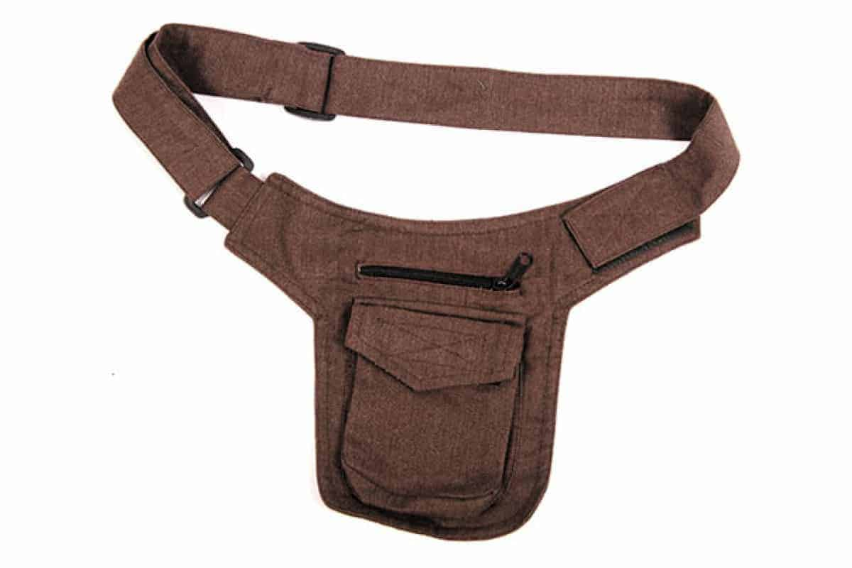 Cotton Small Belt Bag