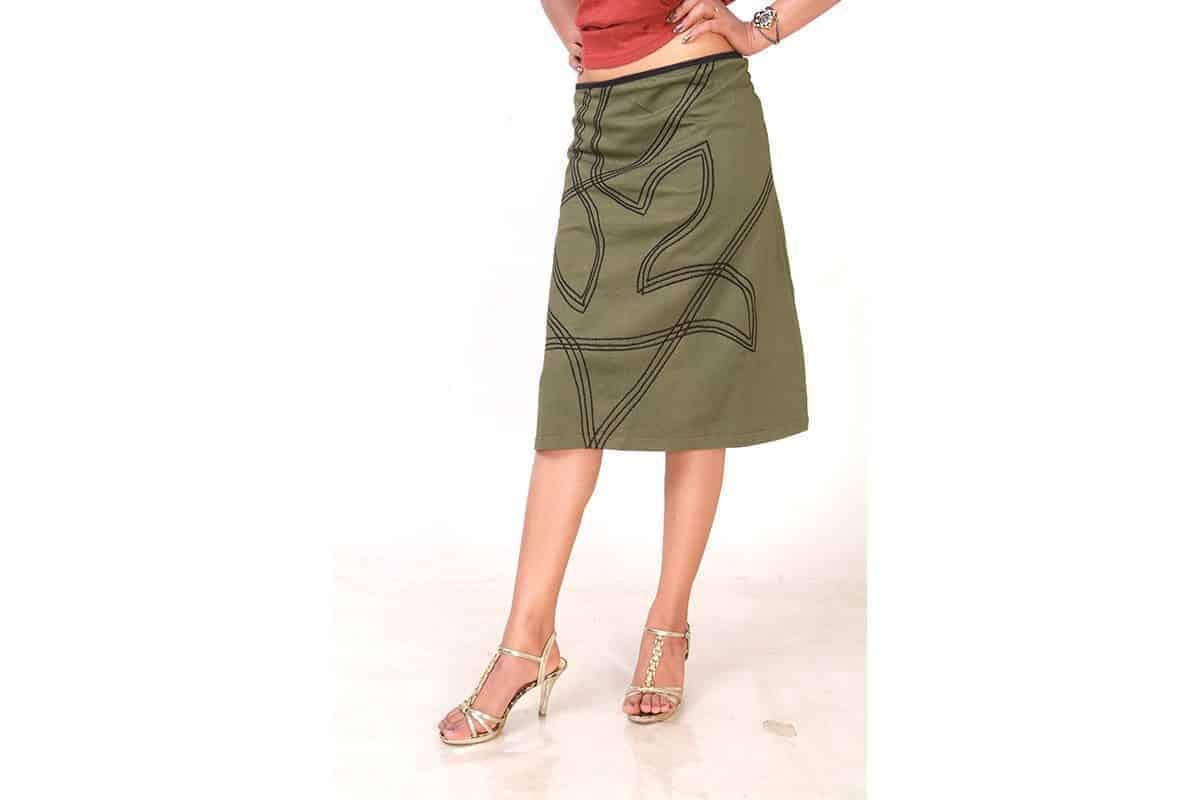 Embroaden Your Life Skirt