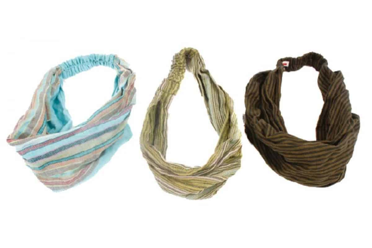 Hand Loomed Cotton Hair Band