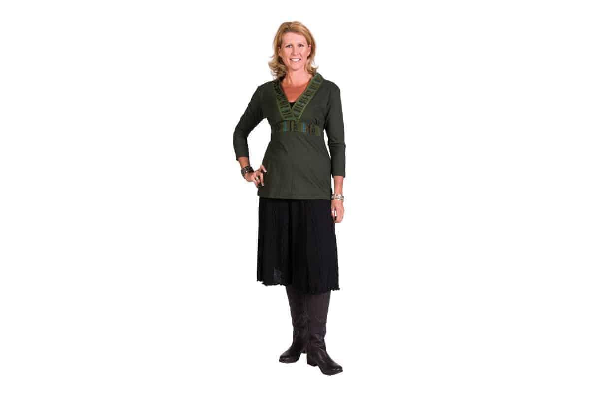 Knit Till The End Skirt