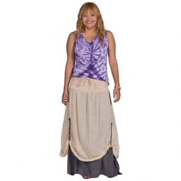 Layered Peasant Skirt
