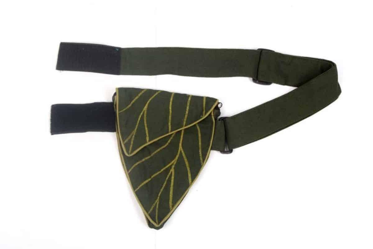 Leaf Stitch Belt Bag