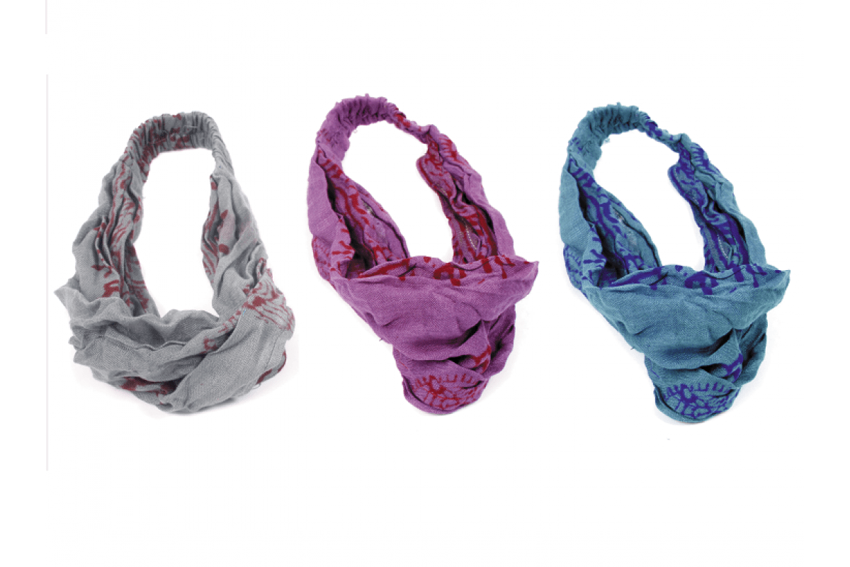 Rayon Om Printed Head Band