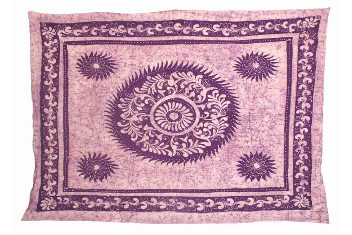 Single Size Batik Tapestry