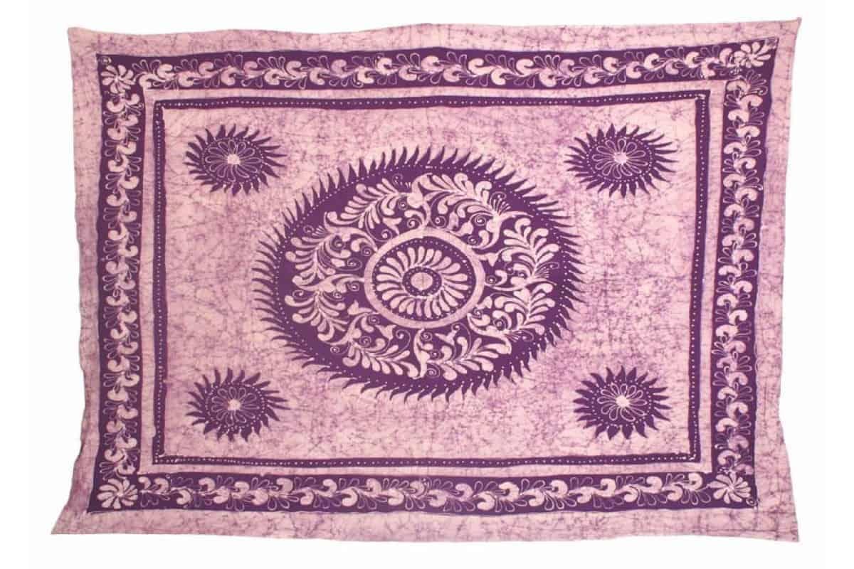 Single Size Batik Tapestry