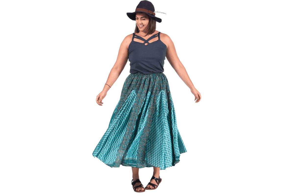 Smiles for Miles Maxi Skirt - Boho Style Cheap Hippie Clothes ...
