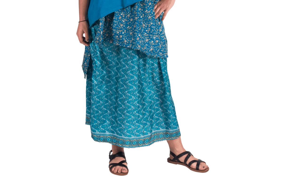 sophisticated charm layered maxi skirt avatar imports