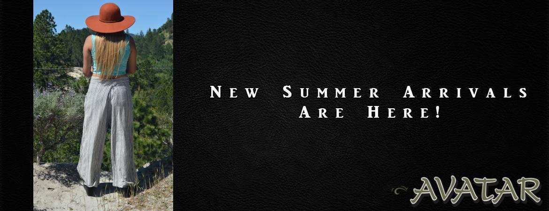 New Summer Arrivals