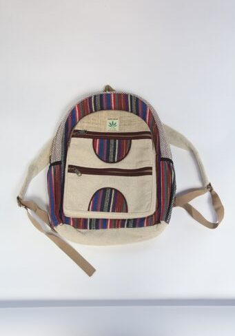 Hemp Woven Backpack