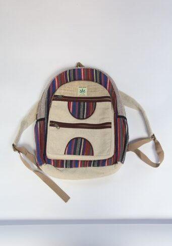 Hemp Woven Backpack